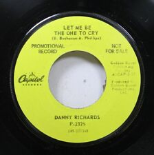 Hear! Folk Pop Promo 45 Danny Richards - Let Me Bo The One To Cry / 48 Hours On