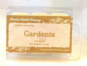Gardenia 2.5oz Soy Wax Melts Scent Fresh Floral Spring One Package