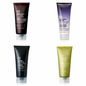Body Shop ◈ Mens Range ◈ BODY WASH & SHOWER GEL 200ML ◈ Soap-free & Lather-rich