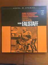 Verdi - FALSTAFF - Schwarzkopf, Gobbi: Philharmonia; Karajan  - 3 EX LP Box Set