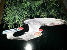 HALLMARK Keepsake 1993 U.S.S. ENTERPRISE Star Trek CHRISTMAS ORNAMENT Light NEW