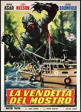 CINEMA-manifesto LA VENDETTA DEL MOSTRO agar, nelson; J. ARNOLD