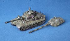 15mm WW2 fow flames of war german king tiger tiger ii * joliment peint * (P219)