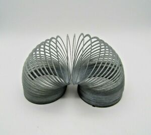 Vintage Metal Slinky Classic Toy, No Box. Unknown Maker. Please see pics.