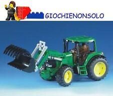 Merchandising Bruder 02052 - John Deere Trattore 6920 con Benna