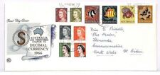 FF220 1966 Australia Territories Decimal Currency FDC Cover PTS