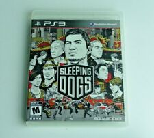 Sleeping Dogs Playstation 3 Ps3 Good Condition Tested