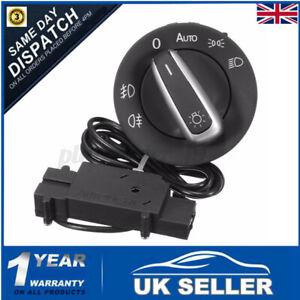 Car Auto Headlight Head Light Switch & Sensor For VW Golf 5 6 MK6 MK5 UK