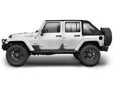 Smittybilt XRC Armor Steel Body Cladding 2007-2017 4dr Jeep Wrangler JK 4 door 7