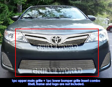 Fits 2012-2014 Toyota Camry Billet Grille Insert Combo