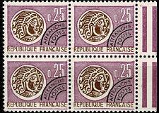 France 1964 Préoblitéré Bloc de 4  n° 126 Neuf ★★ luxe / MNH