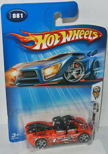 2004 First Editions  - WHAT-4-2 - orange/graphics - 1:64 Hot Wheels 081/100