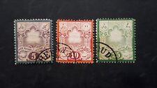 IRAN LOTTO DI 3  FRANCOBOLLI N° 32-33-34 USATI  GUARDARE