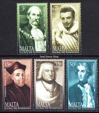 Malta 2002 Personalities Complete Set SG 1279 - 1283 Unmounted Mint
