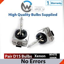 2x D1S HID Xenon White 5000K Bulbs 35W Replacement Headlights Low Beam MINI