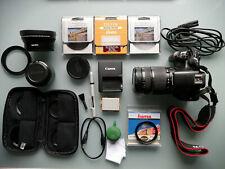 Canon EOS 450D Digitalkamera mit Zubehörpaket, zwei Objektive