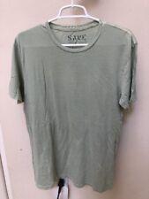 NEW Save Khaki United X-large Crew Neck Tee T Shirt - Light Green - 100% Cotton