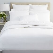 Oake Bedding Segment TWIN Duvet Cover WHITE MSRP $245 Y1121