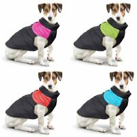Winter Warm Padded Dog Clothes Waterproof Pet Coats Vest Jacket for Dogs S-5XL