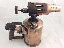 ANCIENNE LAMPE A SOUDER EN LAITON EXPRESS LG UNIS FRANCE  2    23 cm