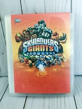 Topps Skylanders Giants Trading Cards And Holder 41 Cards