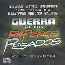 Various Artists : Guerra De Los Raperos Pesados CD