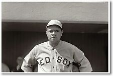 Babe Ruth - NEW Famous Red Sox Baseball Player POSTER