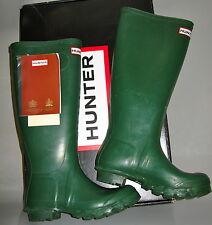 Hunter Original Green Wellies Wellington Rain Rubber Boots