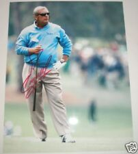 FUZZY ZOELLER SIGNED 8X10 GOLF PHOTO *COA* AUTHENTIC AUTOGRAPH MASTERS CHAMP