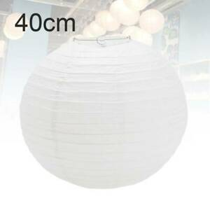 40cm Paper Lampshade Ceiling Lighting Lampshade Lantern Light White Lantern