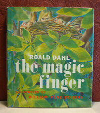 Roald Dahl The Magic Finger 1966 FIrst Edition HC/DJ William Pene Du Bois