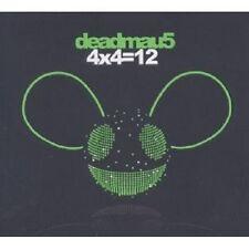 """Deadmau 5"""" 4x4 = 12"""" CD 11 tracks NEUF"""