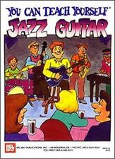 Mel Bay You Can Teach Yourself Jazz Guitar-ExLibrary