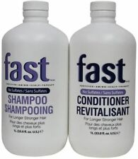 Nisim FAST 33-ounce Shampoo and Conditioner For Longer Hair Duo