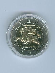 Lituanie Pièce de Monnaie 2015 Pp (Choisissez Entre : 1 Cent