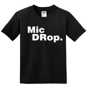NEW! The Original Blueprint REmix ENcore Mic Drop Family Matching Gray T-shirts