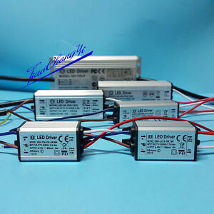 High Power Supply LED Driver 3W 10w 20w 30w 50w 100w 150W 200W For light chip