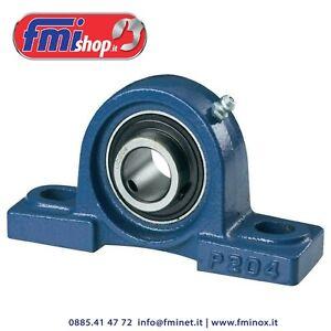 Supporti UCP autoallineanti con cuscinetto acciaio: da 204 a 210 (varie misure)