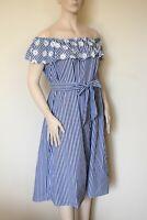 MARINA RINALDI by MAX MARA, 100% Cotton Dress Size MR 27, 18W US, 48 DE, 56 IT