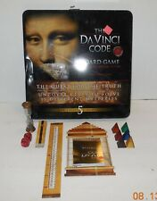 2006 Roseart The Da Vinci Code DVD Board Game in Collectible Tin 100% COMPLETE