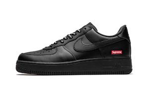 Nike Air Force 1 Low Supreme Triple Black  CU9225-001