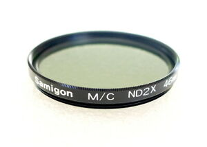 46mm Samigon MC ND2x Neutral Density Filter - Multi Coated - NEW