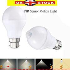 E27/B22 PIR Sensor Motion LED Bulb Lamp Globe Light Bulb Auto ON/OF AC 85-265V