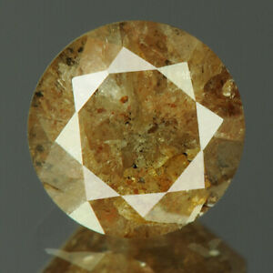 0.91 cts. CERTIFIED Round Cut I3 Grayish Brown Color Loose Natural Diamond 20251