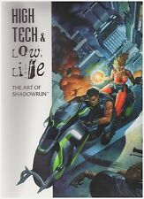 Shadowrun 7701: High Tech & Low Life - The Art of Shadowrun - Softcover Book