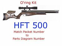 Air Arms O'ring Kit HFT500