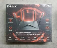 New factory Sealed D-Link DIR-882 AC2600 High Power Dual-Band Wi-Fi Router