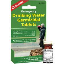 Coghlan's Emergencia de Agua Potable Tabletas Germicidas (50 CT), el tratamiento potable