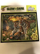 GLOW IN THE DARK puzzle 550 new