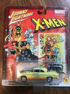 JOHNNY LIGHTNING MARVEL RELEASE 1 X-MEN  CAR # 8 OF 18